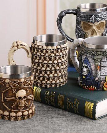 Viking Skull Mug