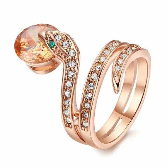 Delicate Viper Ring
