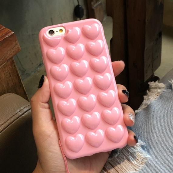 Bubble Heart Case
