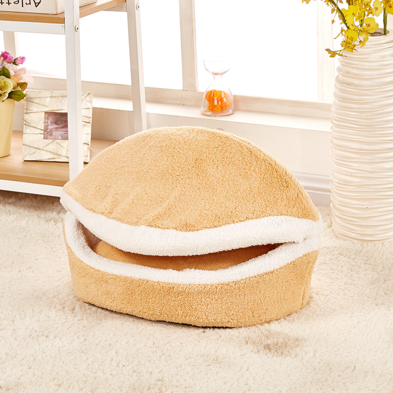 Cat Hamburger Bed Catchy Store