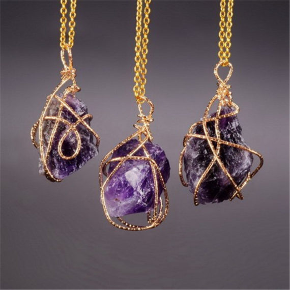 Handcrafted Amethyst Pendant