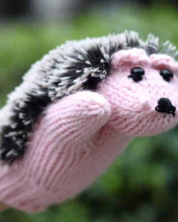 Hedgehog Mittens