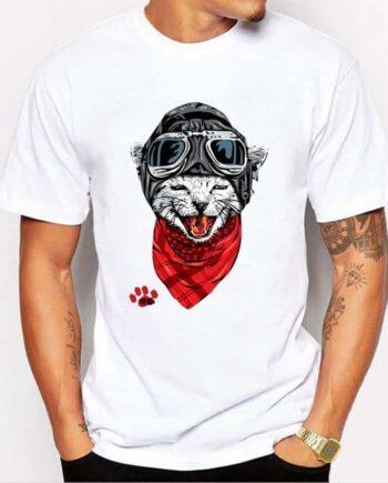 Aviator Kitty T-Shirt