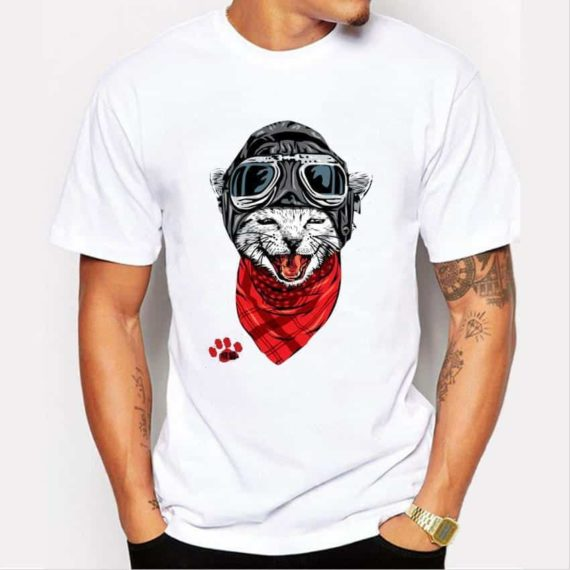 Aviator Kitty T-Shirt