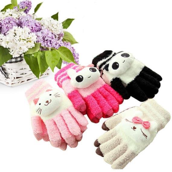 Cute Animals Gloves