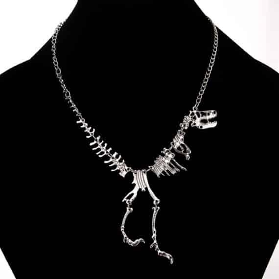 T-Rex Skeleton Pendant