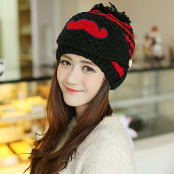 Beard Beanie for Women