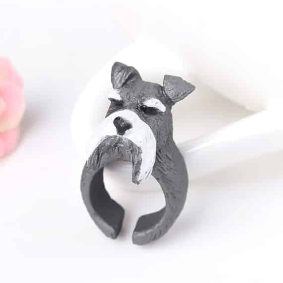 Gray Dog Ring