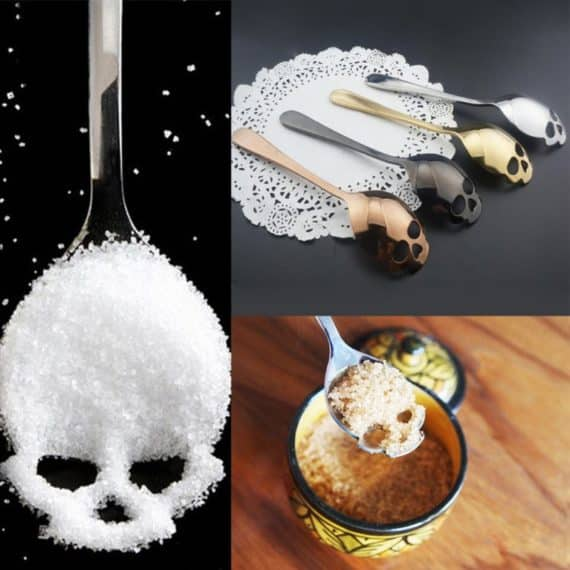 Skull Teaspoon - Set of 3