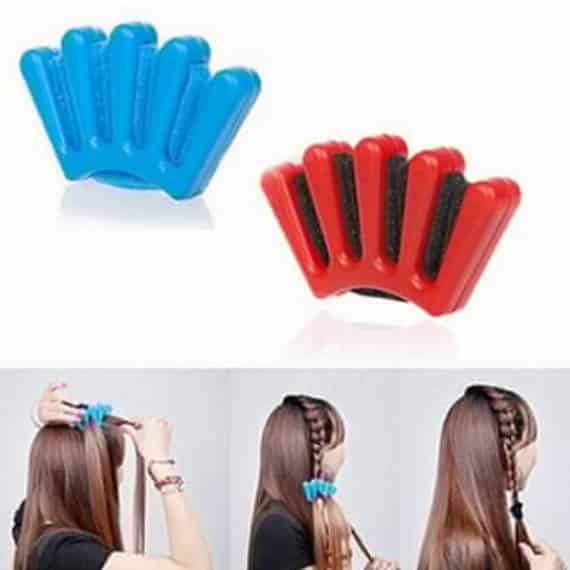 Hair Braider Crown Set
