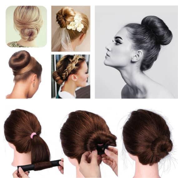 Hairagami Hair Bun - Set of 3