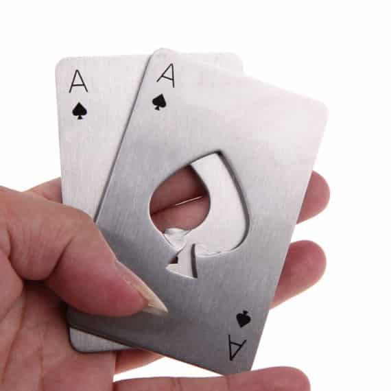 Poker Card Opener Set