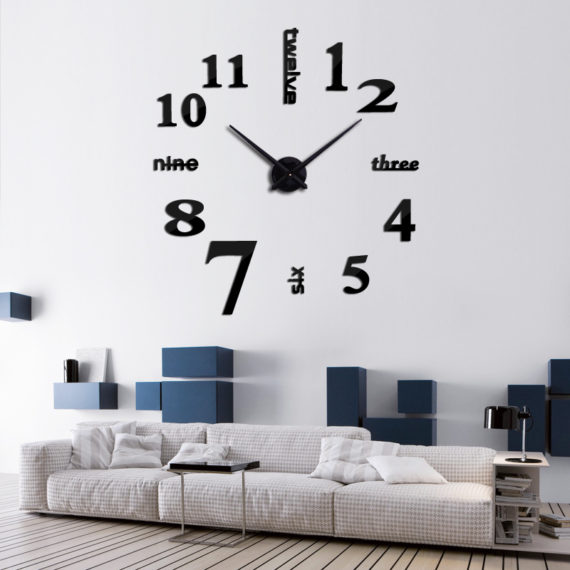 Quartz Clock 3D Wallpaper