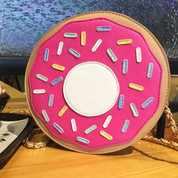 Mini-Donuts Chain Purse Shoulder Bag