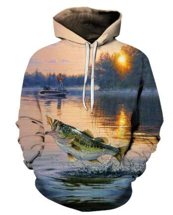 3D Tropical Fish Funny Hoodies