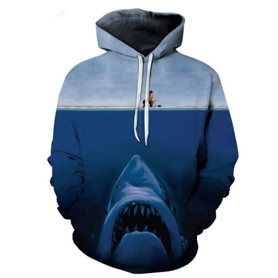 3D Tropical Fish Funny Hoodies