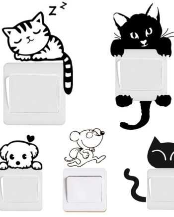 Cute Animals Switch Decal Wall Stickers