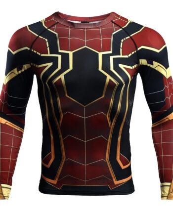 Spiderman 3D Printed T shirts