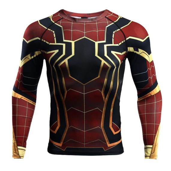 Spiderman 3D Printed T shirts