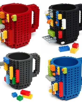 Build-On Brick Building Blocks Coffee Cup