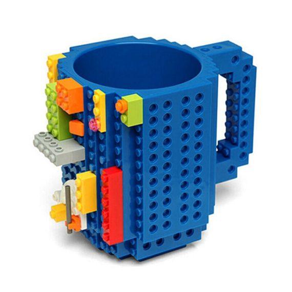 Build-On Brick Building Blocks Coffee Cup