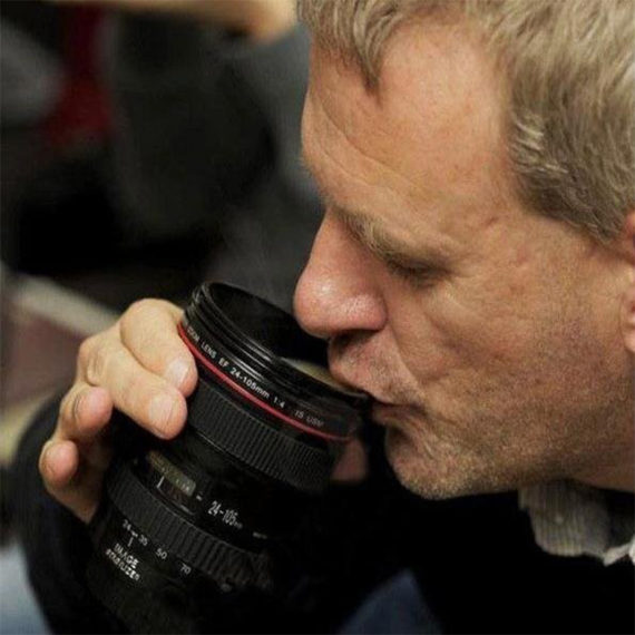 SLR Camera Shape Mug