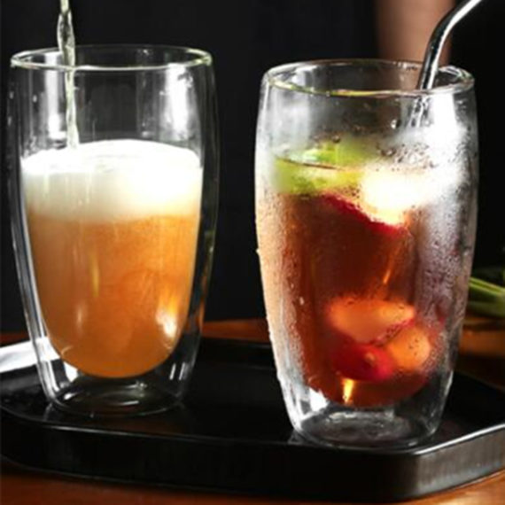 Heat-resistant Double Wall Glass Cup