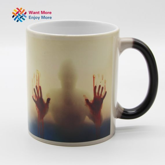 Walking Dead Heat Sensitive Ceramic Mug