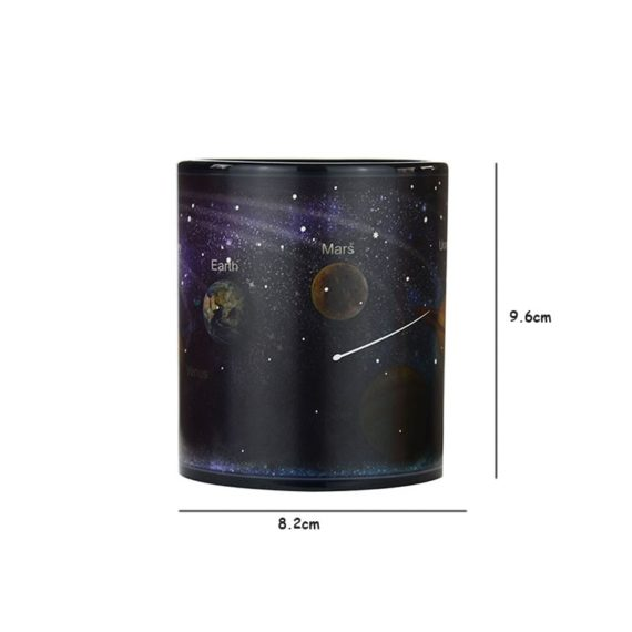 Porcelain Mug With The Solar System