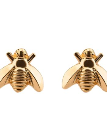 Cute Tiny Bee Earring Jewelry Gold/Silver