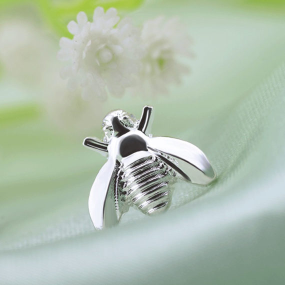 Cute Tiny Bee Earring Set