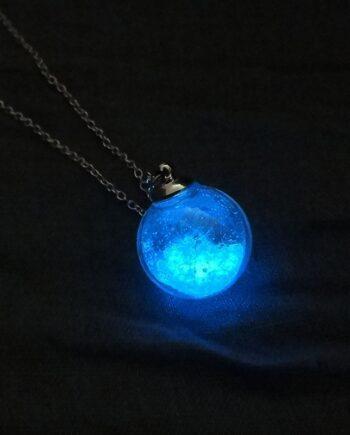 Luminous Dandelion Pendant